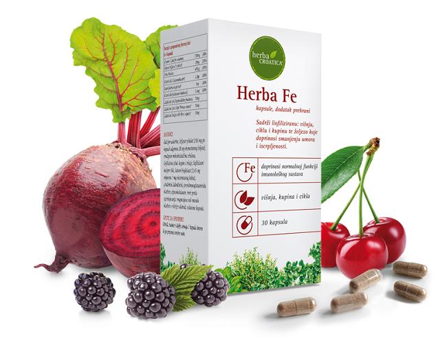 Herba Fe sadrži željezov pidolat koji ne uzrokuje probavne tegobe - Kivilaks
