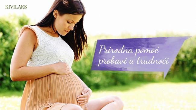Kivilaks je prirodna pomoć probavi u trudnoći